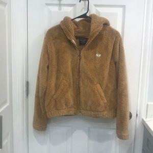 """Tan """"Teddy"""" Jacket"""
